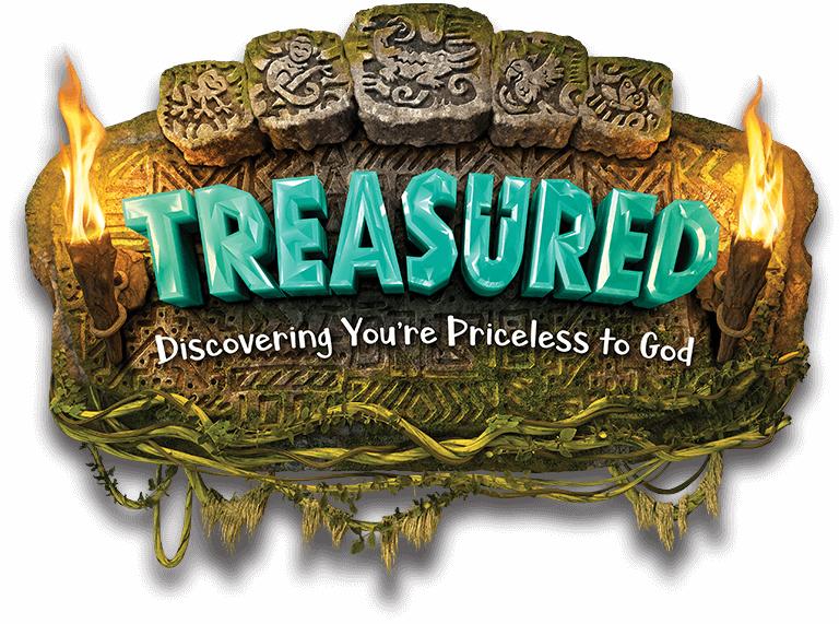 Treasured VBS logo